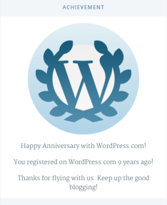 9 years in wp